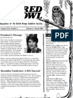 February-March 2004 Barred Owl Newsletters Baton Rouge Audubon Society