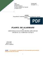 Planul de Alarmare Al S.v.S.U.