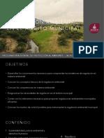 Regulación ambiental en el ámbito municipal 2017