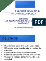 Sesion_02_Comptadoras en La Actualidad y Hardware