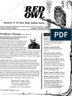 January-February 2005 Barred Owl Newsletters Baton Rouge Audubon Society