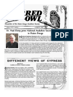 1st Quarter 2007 Barred Owl Newsletters Baton Rouge Audubon Society