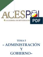 Resumen Tema 5 Acespol CNP policia nacional