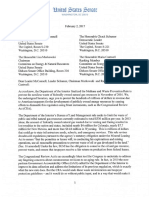 Senate Democrats Letter to Protect the BLM Rule that Prevents Natural Gas Waste, Safeguards Health and Economic Growth