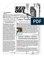 4th Quarter 2007 Barred Owl Newsletters Baton Rouge Audubon Society