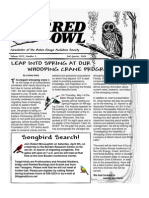 2nd Quarter 2008 Barred Owl Newsletters Baton Rouge Audubon Society
