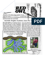 3rd Quarter 2008 Barred Owl Newsletters Baton Rouge Audubon Society