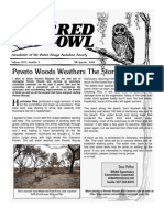 4th Quarter 2008 Barred Owl Newsletters Baton Rouge Audubon Society