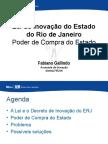 Lei de Inovação Rio de Janeiro 2014 Poder de Compra Do Estado