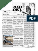 1st Quarter 2009 Barred Owl Newsletters Baton Rouge Audubon Society