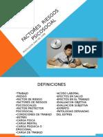 Factores de Riesgos Psicosociales 1