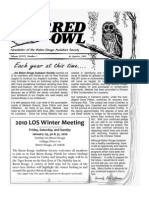 1st Quarter 2010 Barred Owl Newsletters Baton Rouge Audubon Society