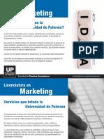 Marketing en UP