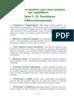 Eliana Furukawa - DICAS PARA MANTER SUA CASA SEMPRE EM EQUILIBRIO.pdf