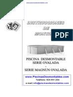 Manual Montaje Piscinas Toi Ovaladas 120 y 132 de Altura