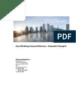 Cisco IOS Debug Command Reference - Commands E Through H