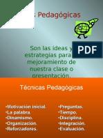 Tecnicas Pedagogicas El Salto
