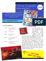 ihp newsletter jul-sep  2015