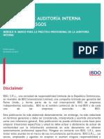 Módulo II. Marco Para La Práctica Profesional de La AI. Noviembre 2015