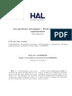 Les Garnitures Mécaniques - Etude Théorique Et Expérimentale