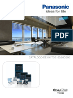 Pbx Ip Puro Kx Tde. Brochure