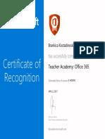 teacher academy- office 365