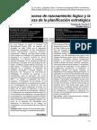 El Proceso de Razonamiento Lógico y La Enseñanza. Rodríguez, B., Cruz Del C. & González, S. (2008).