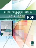 IPC 2015 Revisiòn History