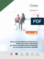 Patrones Alimentarios de Niños Españoles 2016