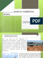 Ejemplos de Plan de Manejo Ambiental
