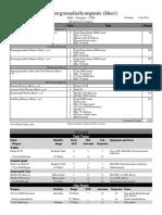 GER - Panzergrenadierkompanie - FOW Forces - 1750