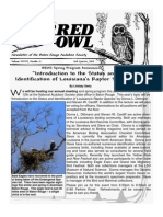 2nd Quarter 2010 Barred Owl Newsletters Baton Rouge Audubon Society