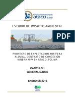Estudio de Impacto Ambiental proyecto minero de Ataco