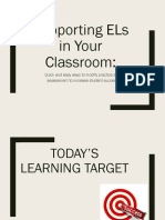 supporting els in your classroom