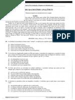 JULHO 2013 - Raciocínio Analítico.pdf