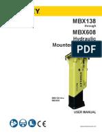 Stanley MBX138-MBX608 English User Manual 2-2016