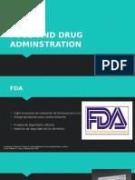 Food and Drug Adminstration