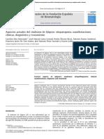 Aspectos Actuales de SSj - Reumatol Clinica 2010