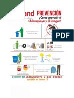 Campaña Dengue y Chikunguña