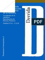 Derrida Jacques - La Desconstruccion En Las Fronteras De La Filosofia.pdf