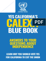 Calexit Blue Book