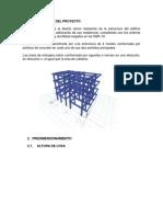 Diseño Edificio