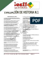 Evaluacion de Historia Pre-cecil