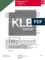 Informe de Competencias - KLB SPA