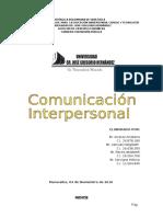 Comunicacion Interpersonal