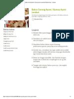 Resep Bakso Goreng Ayam _ Siomay Ayam Lembut Oleh Bunda Utiza - Cookpad
