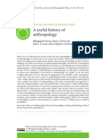 A Joyful History of Anthropology