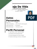 Hoja de Yudis Esther Fragoso Gutierrez Hotel Oficos