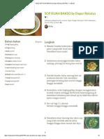 Resep SOP KUAH BAKSO by Dapur Rekalya oleh Reka - Cookpad.pdf