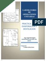 Evaporacion y Destilacion